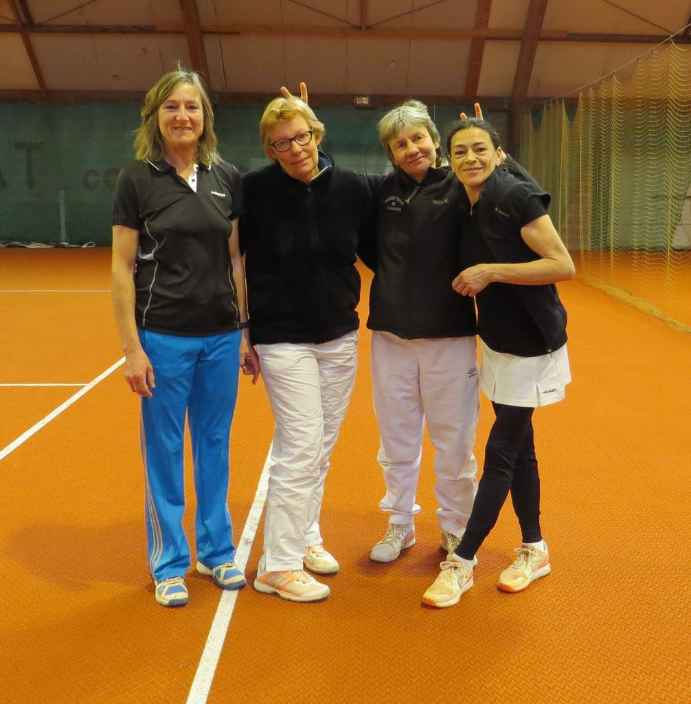 Christiane Collet, Véronique Hamerel, Patricia Broos, Pascale Roberti