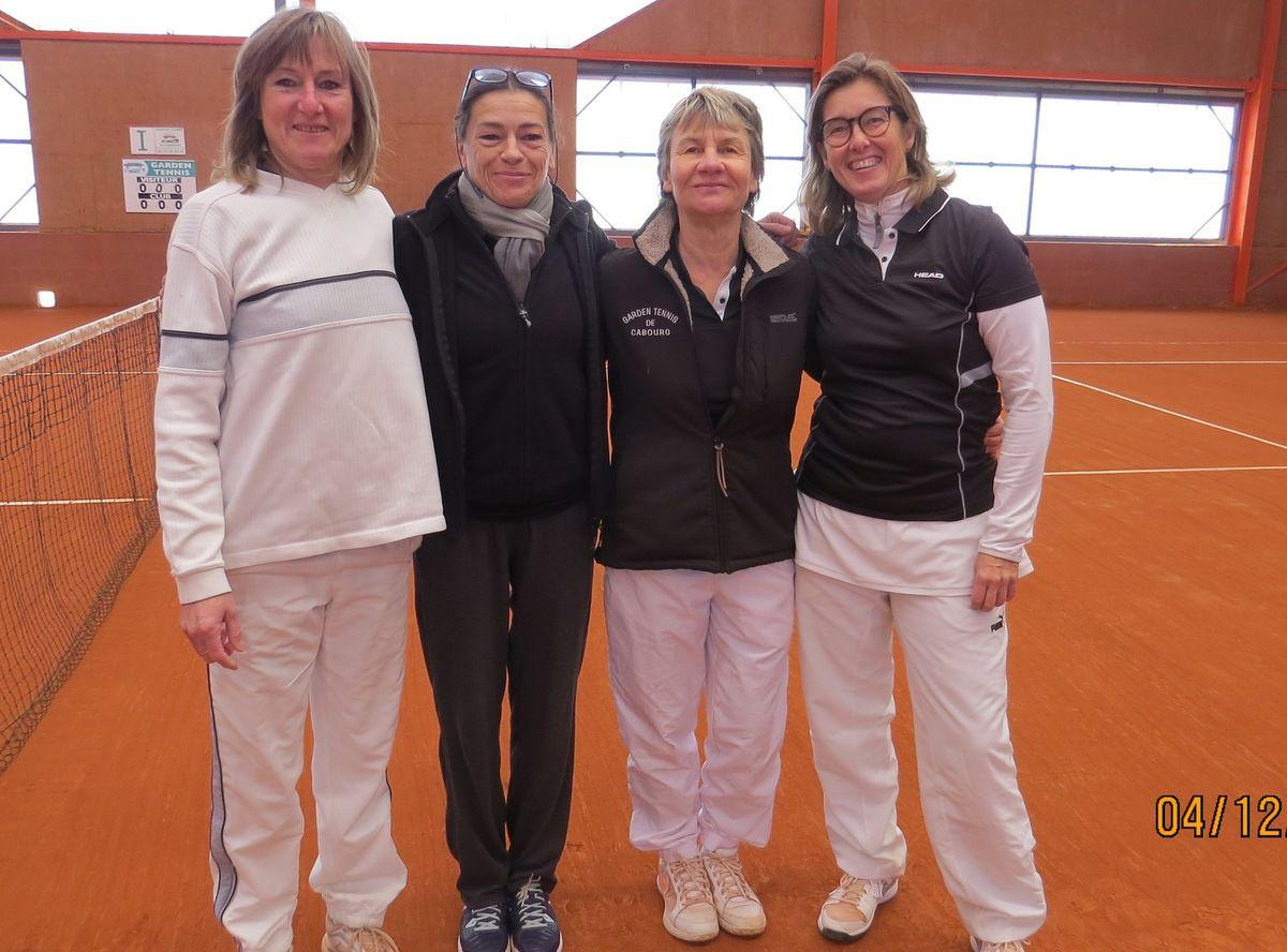 Christiane Collet, Pascale Roberti, Patricia Broos, Marie-Hélène Leduc