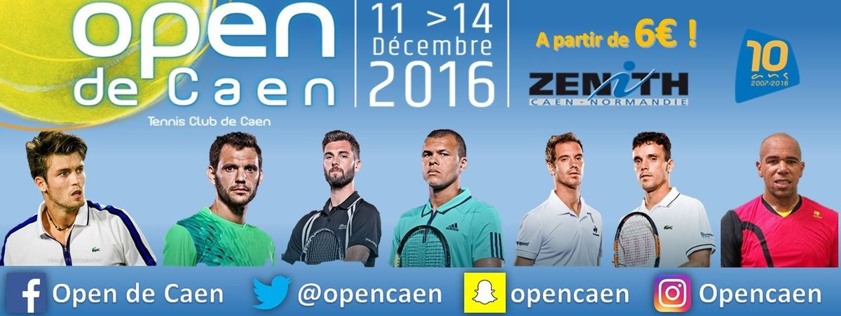 TABLEAU FINAL OPEN DE CAEN 2016