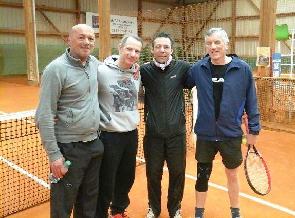 Loris Baccheschi, Nicolas Dayras, Joël Reynaud, Alain Aubry