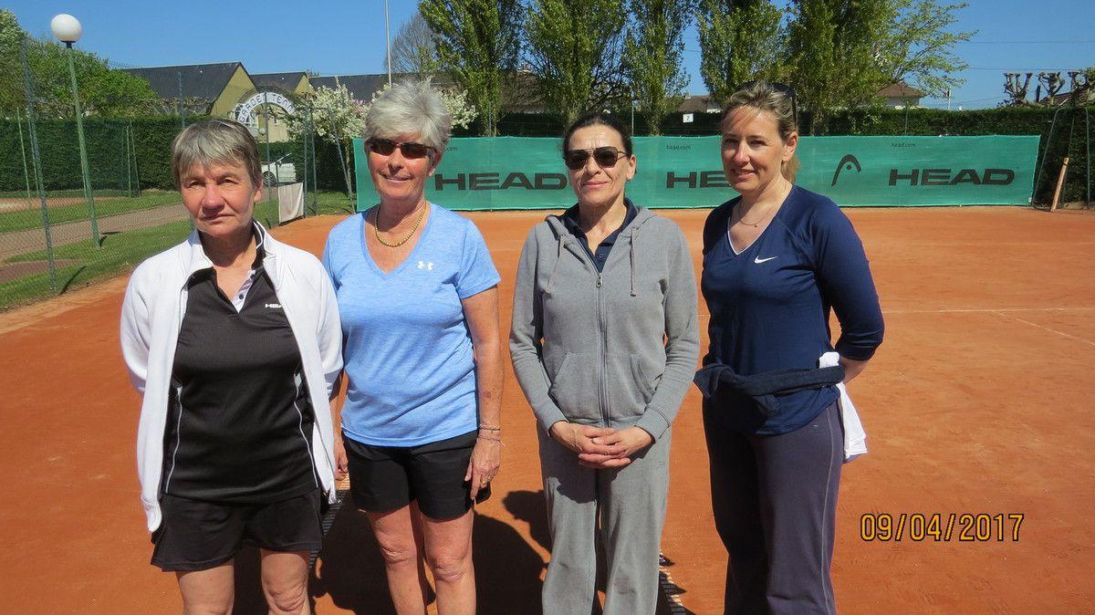 Patricia Broos, Catherine Rolland, Pascal Roberti, Nathalie Billouin
