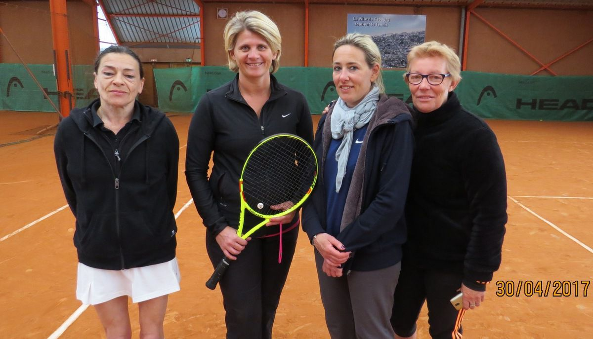 Pascale Roberti, Véronique Mancini, Nathalie Billouin, Véronique Hamerel