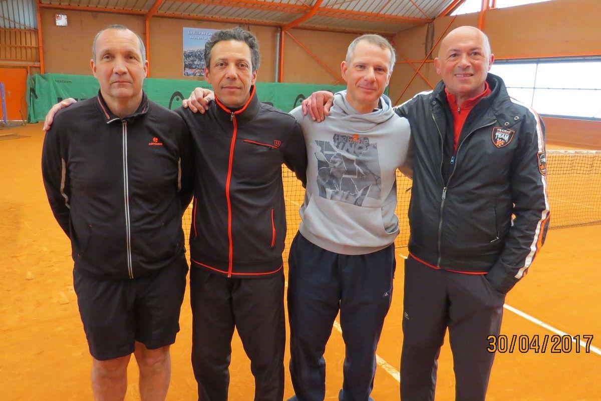 Philippe Bazoge, Joël Reynaud, Nicolas Dayras, Loris Baccheschi