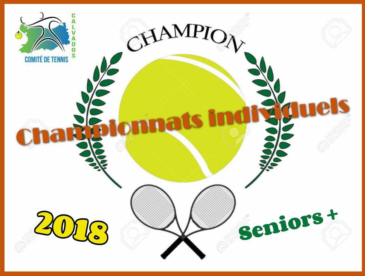 CHAMPIONNATS INDIVIDUELS DU CALVADOS SENIORS + 2018