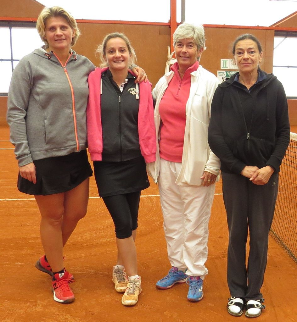 Véronique Mancini, Agathe Rault, Catherine Rolland, Pascale Roberti