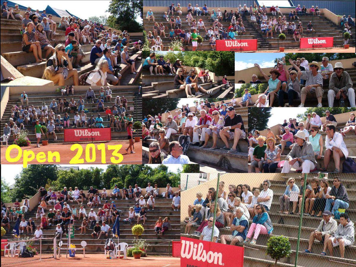 6 août 2013  Dernières finales sur le central du Garden Tennis de Cabourg