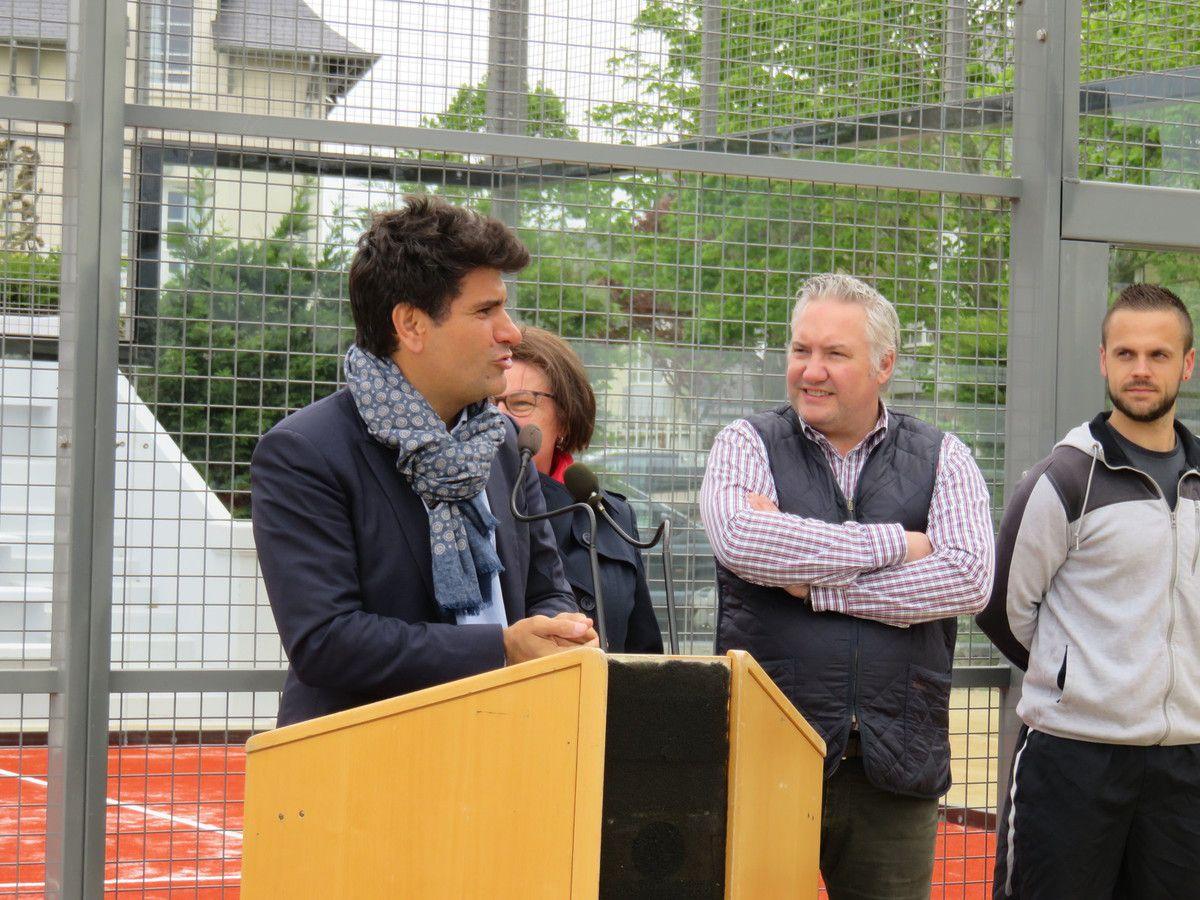Inauguration du padel