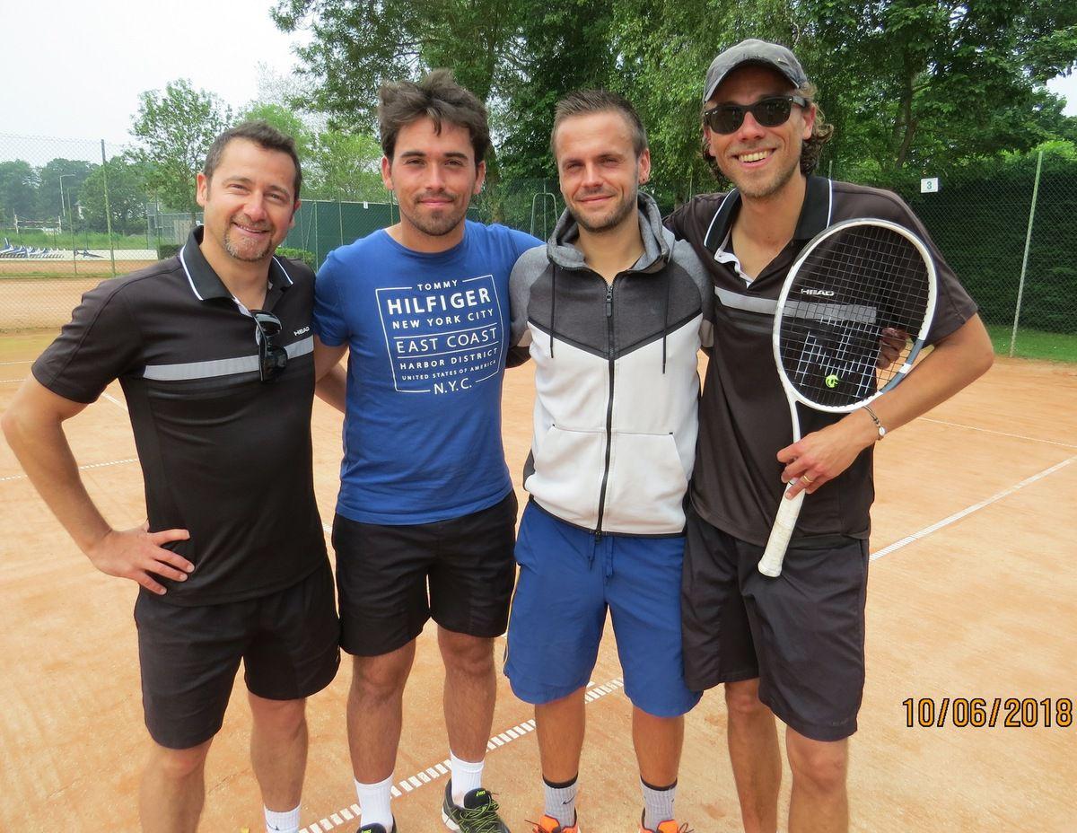 Stéphane Deguette, Pierre Baudier, Marc Durieux, Benjamin Henriet