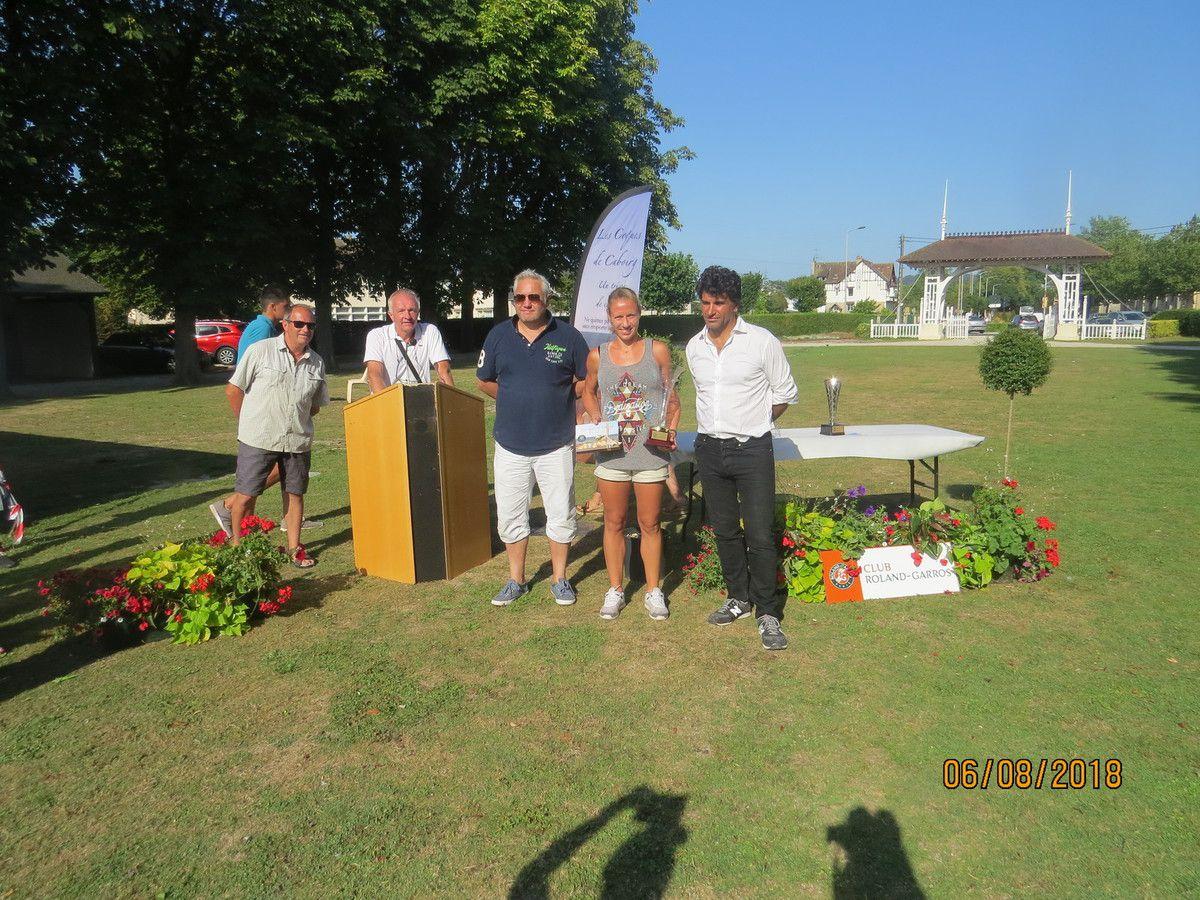 Manon Garcia n°20 Villeneuve d'Asq (59) vainqueur