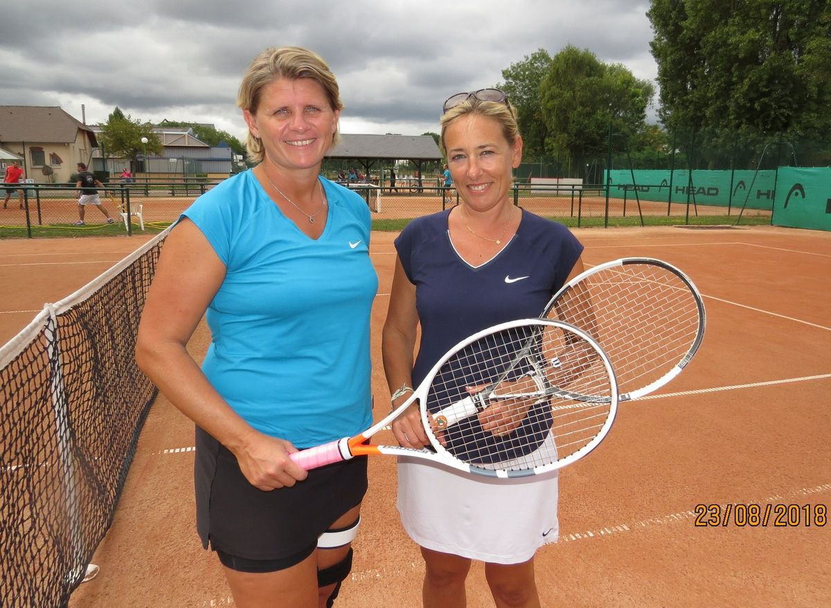 Femmes + 35 : Véronique Mancini (vainqueur) - Nathalie Billouin