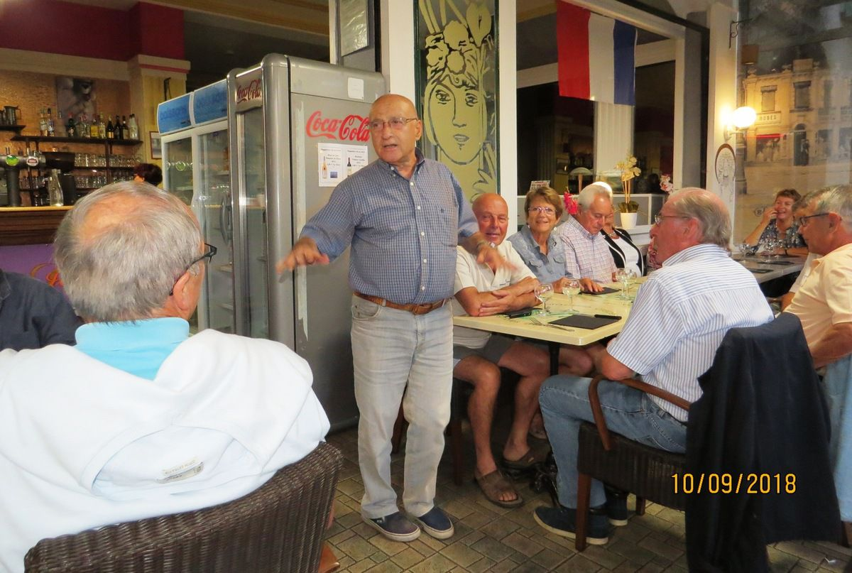 Discours de bienvenue de Guy Sala, représentant normand