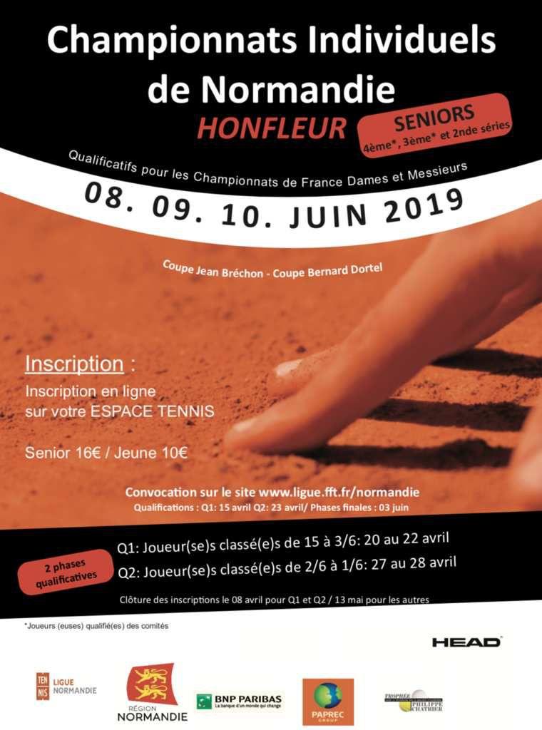 Convocations championnats de Normandie