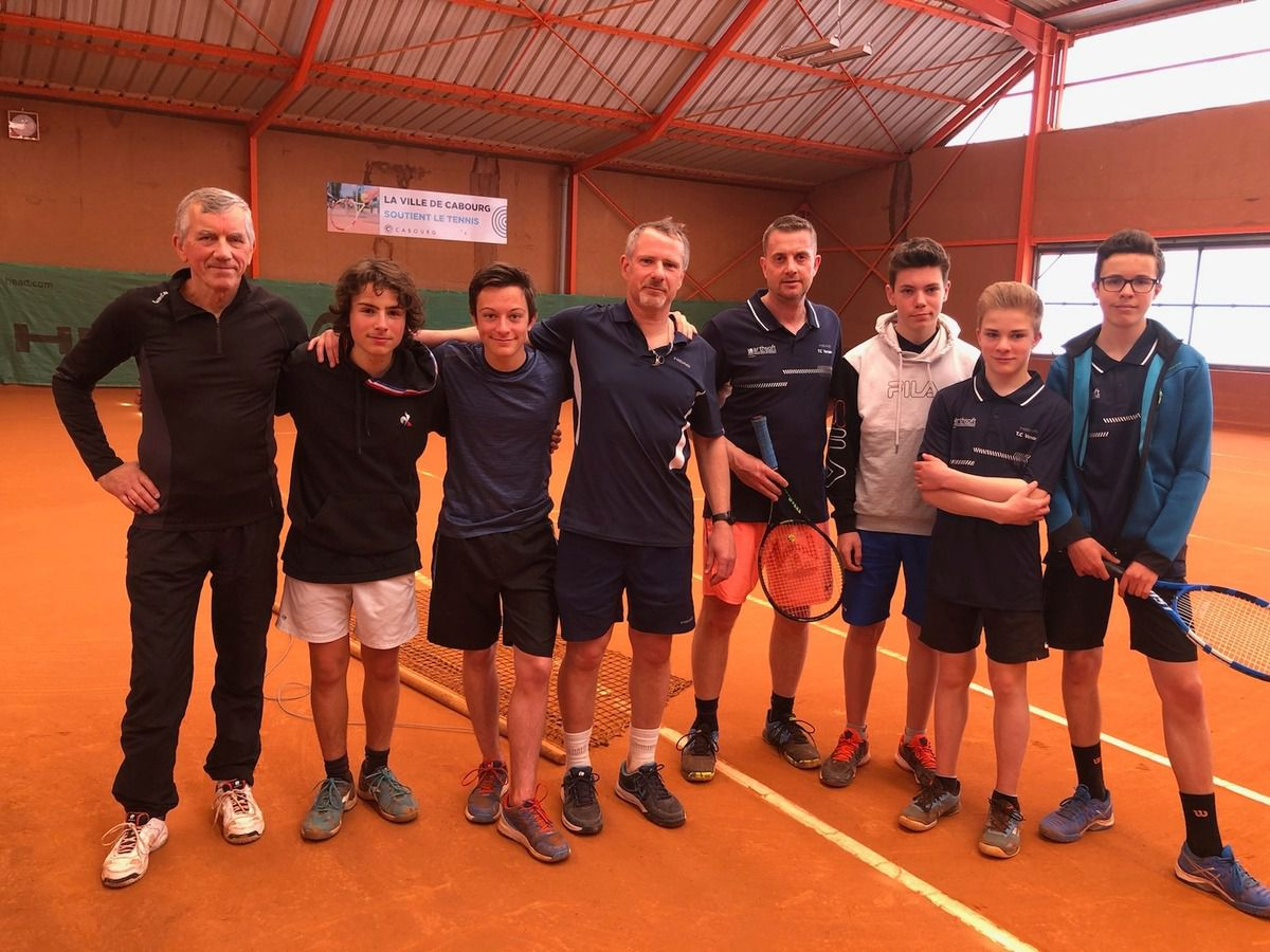 Equipe hommes 4 Cabourg - Verson