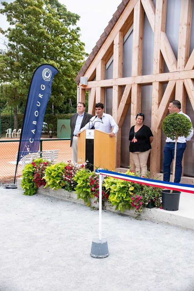 Inauguration vestiaires