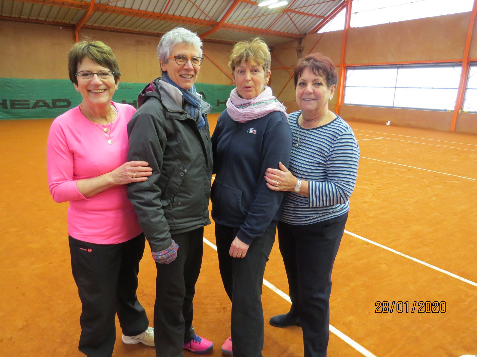 Chartres : Laurence Trubert, Dominique Halay, Sylvie Moisan, Joëlle Morin