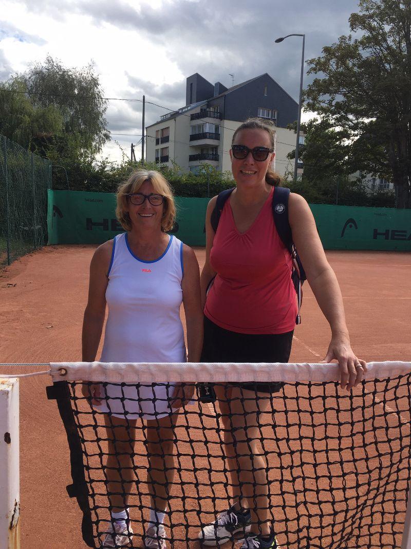 Diane Gombault 30 Houlagte gagne contre Chrystel Pennuen 30/2 Coligny