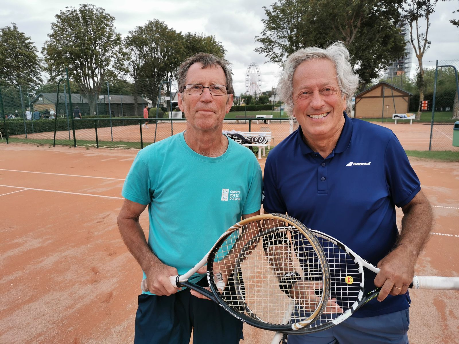 Patrick Duvauferrier 15/3   Emeraude TC Dinard se qualifie en finale + 70 contre Mr Miller