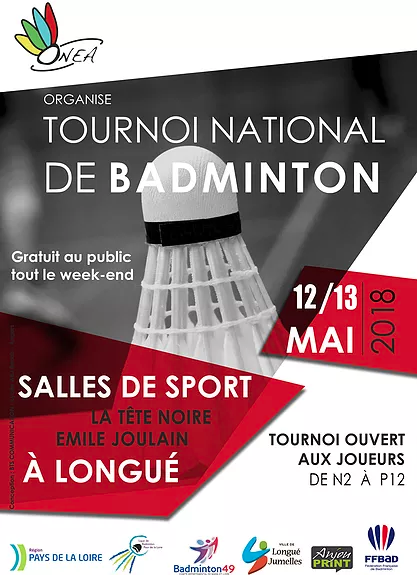Convocations MAJ : Tournoi ONEA(49) 12/13 mai