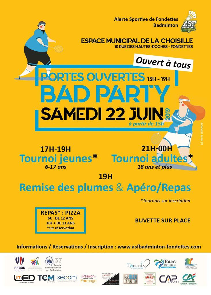 Bad Party 22/06 : Infos & Inscriptions