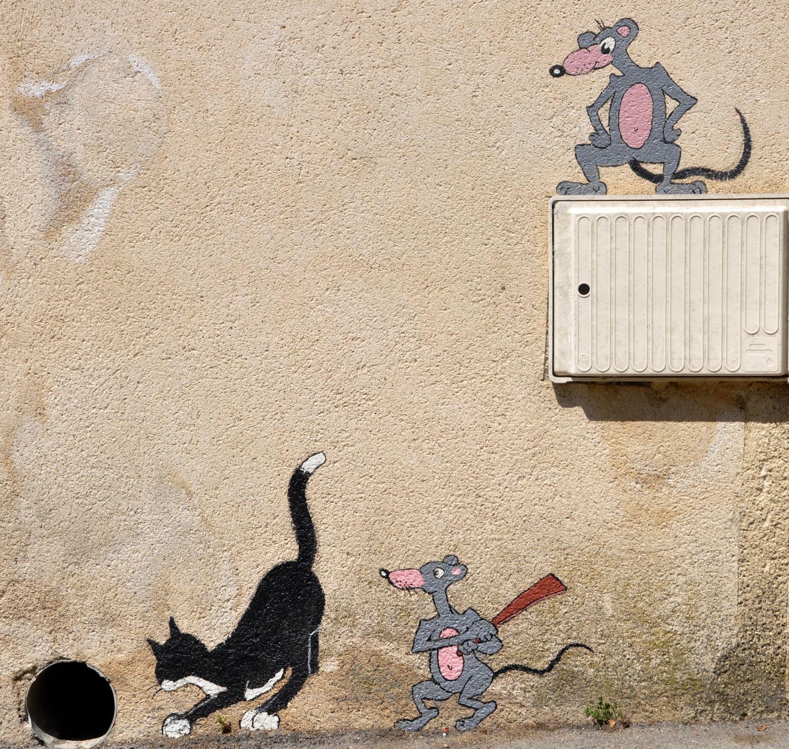 Je fais aussi du street art