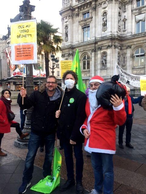 Mobilisation contre l'incinération - Ivry avant Romainville le 13 décembre 19h