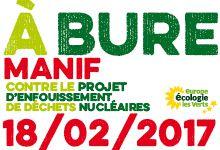 18 février Mobilisation contre le projet d'enfouissement de déchets nucléaires à Bure