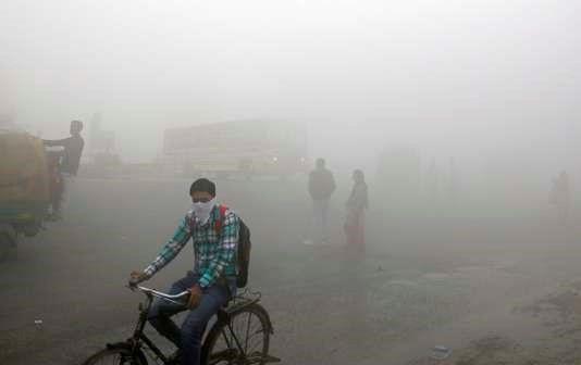 A New Delhi, le 10 novembre. Altaf Qadri / AP