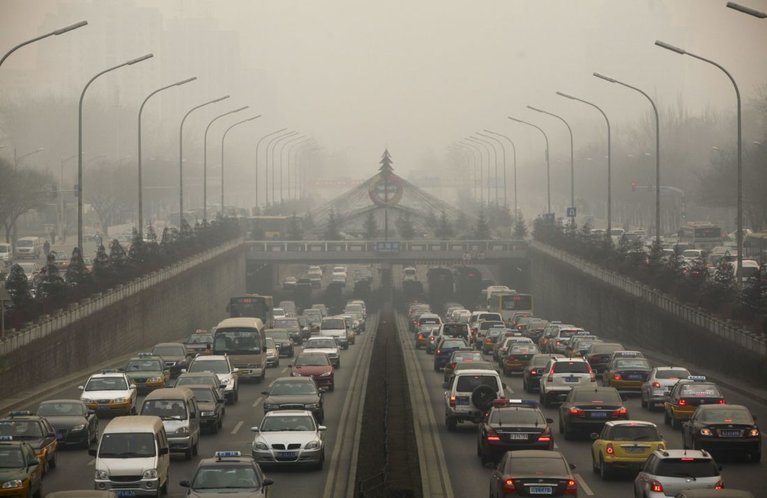 Pollution en Chine.