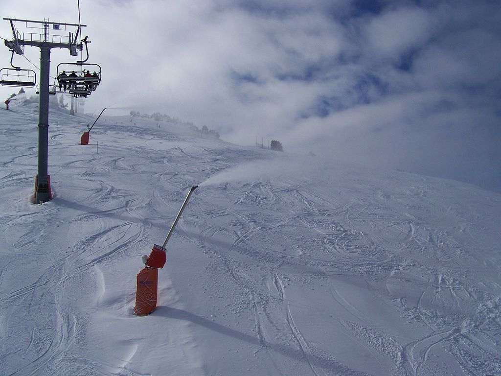 Canon à neige, Espace Villard-Corrençon (Isère)