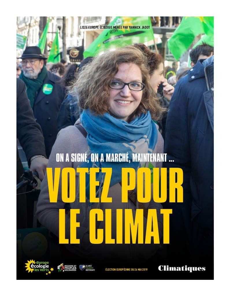Votez pour le climat !