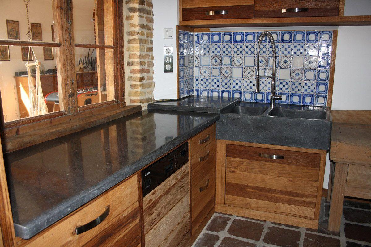 Eviers, vasques, plans de travail en pierre