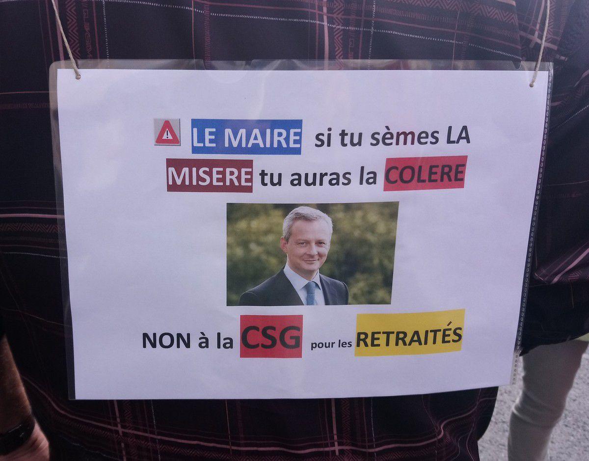 Un millier de retraité(e)s dans les rues de Caen le 28 septembre