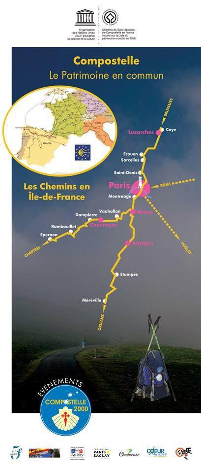 Luzarches aux portes de l'Île de France sur la voie de Paris