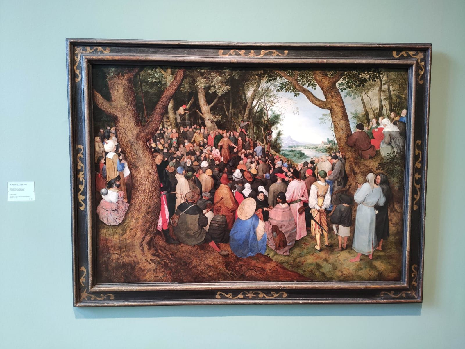 huile sur bois de chêne - Kunstmuseum de Bâle - Ph. M. F.