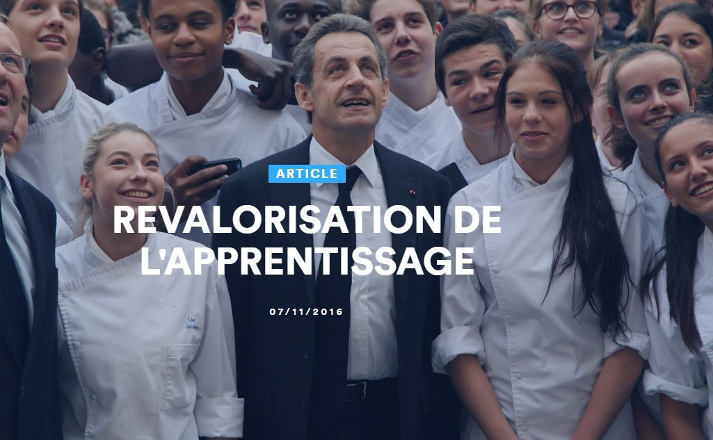 NS 2016: revaloriser l'apprentissage