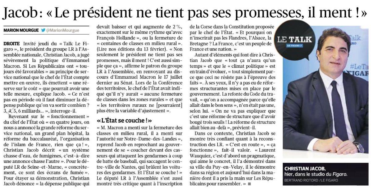 Le président ne tient pas ses promesses