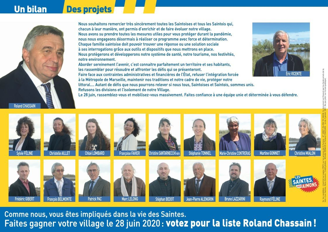 Nous sommes candidats