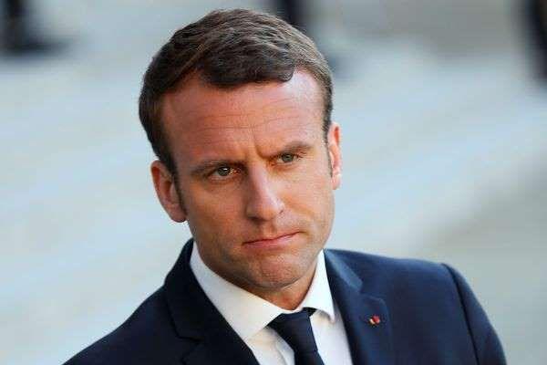 © afp.com/Thomas Samson Emmanuel Macron à l'Elysée à Paris, le 21 mai 2017.
