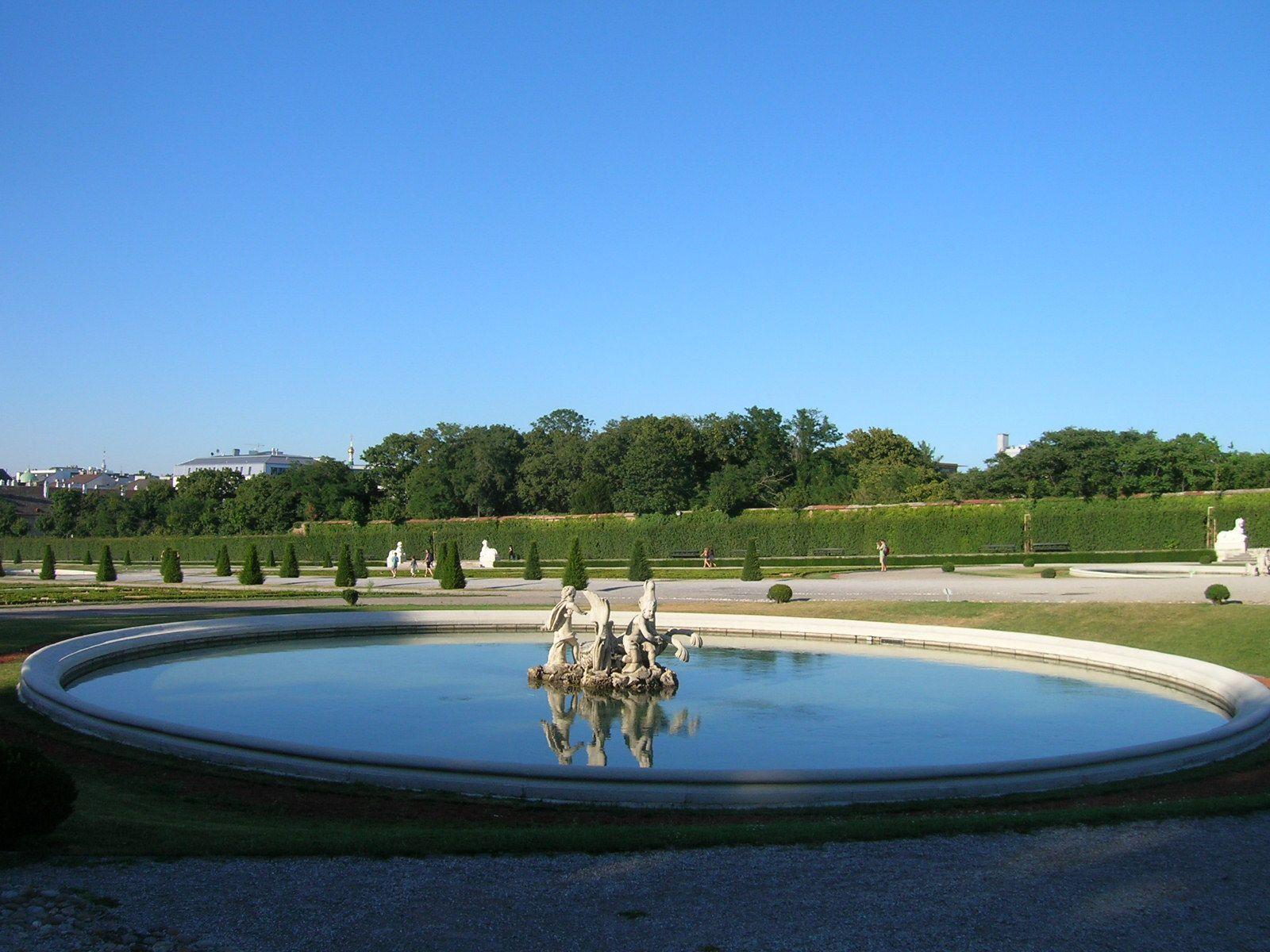 2 août 2013 - Vienne : Château du Belvédère