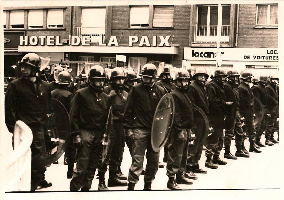 Amiens. 1980. Rue de la République. © Jean-Louis Crimon