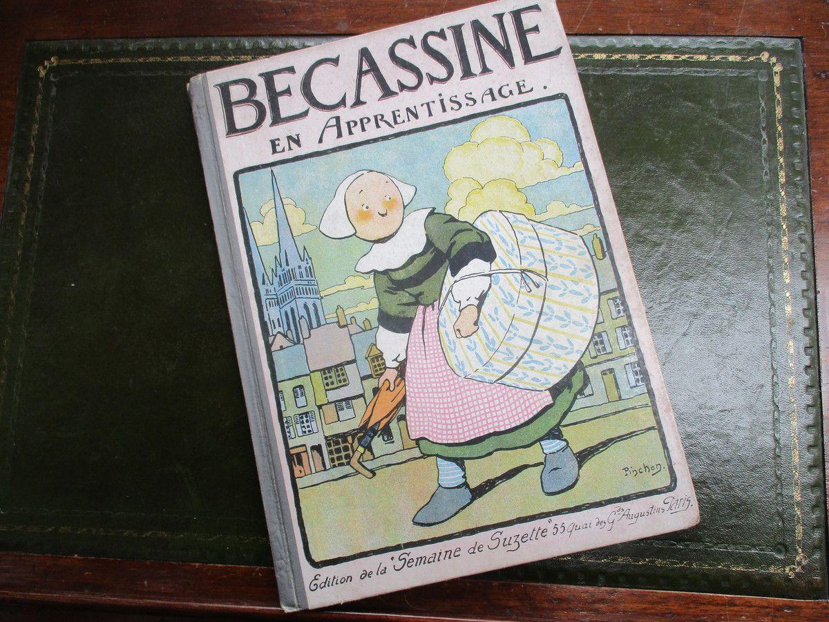 Bécassine. Joseph Pinchon. Copyright by Henri Gautier et Languereau. 1919. © Jean-Louis Crimon