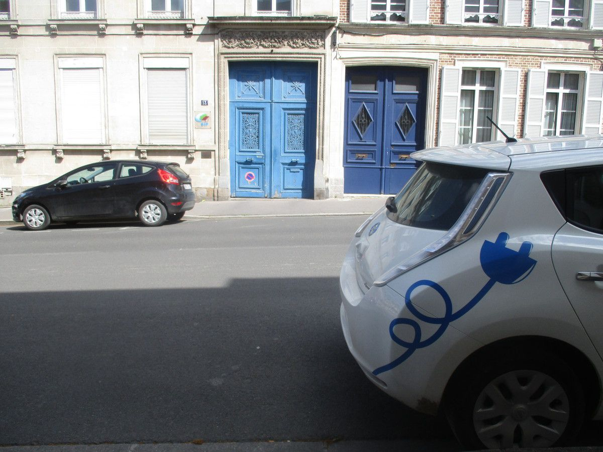 Amiens. Rue Delpech. Juin 2018. © Jean-Louis Crimon