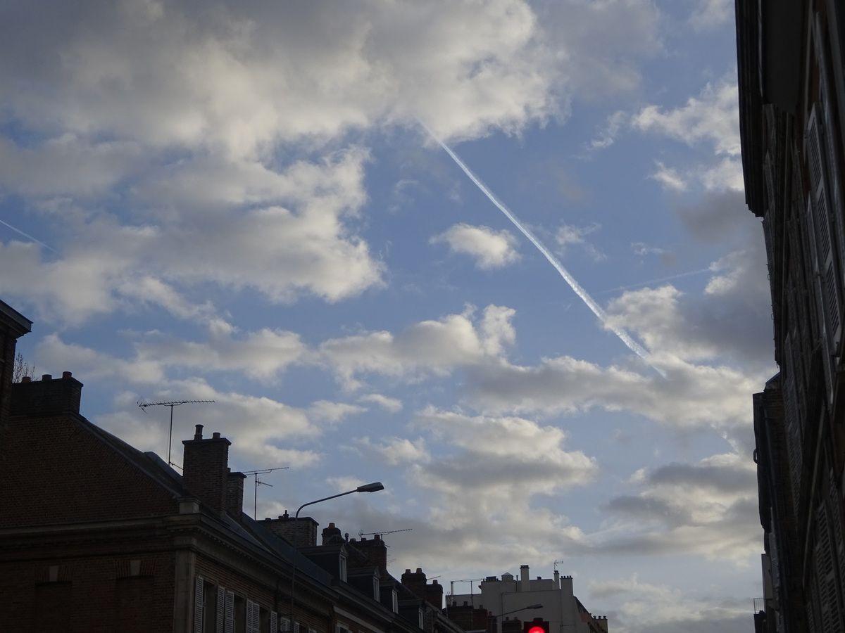 Amiens. Rue Delpech. 9 Février 2019. © Jean-Louis Crimon