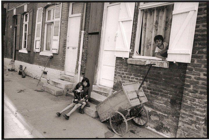 Amiens. Quartier Saint-Leu. Juillet 1981. © Jean-Louis Crimon