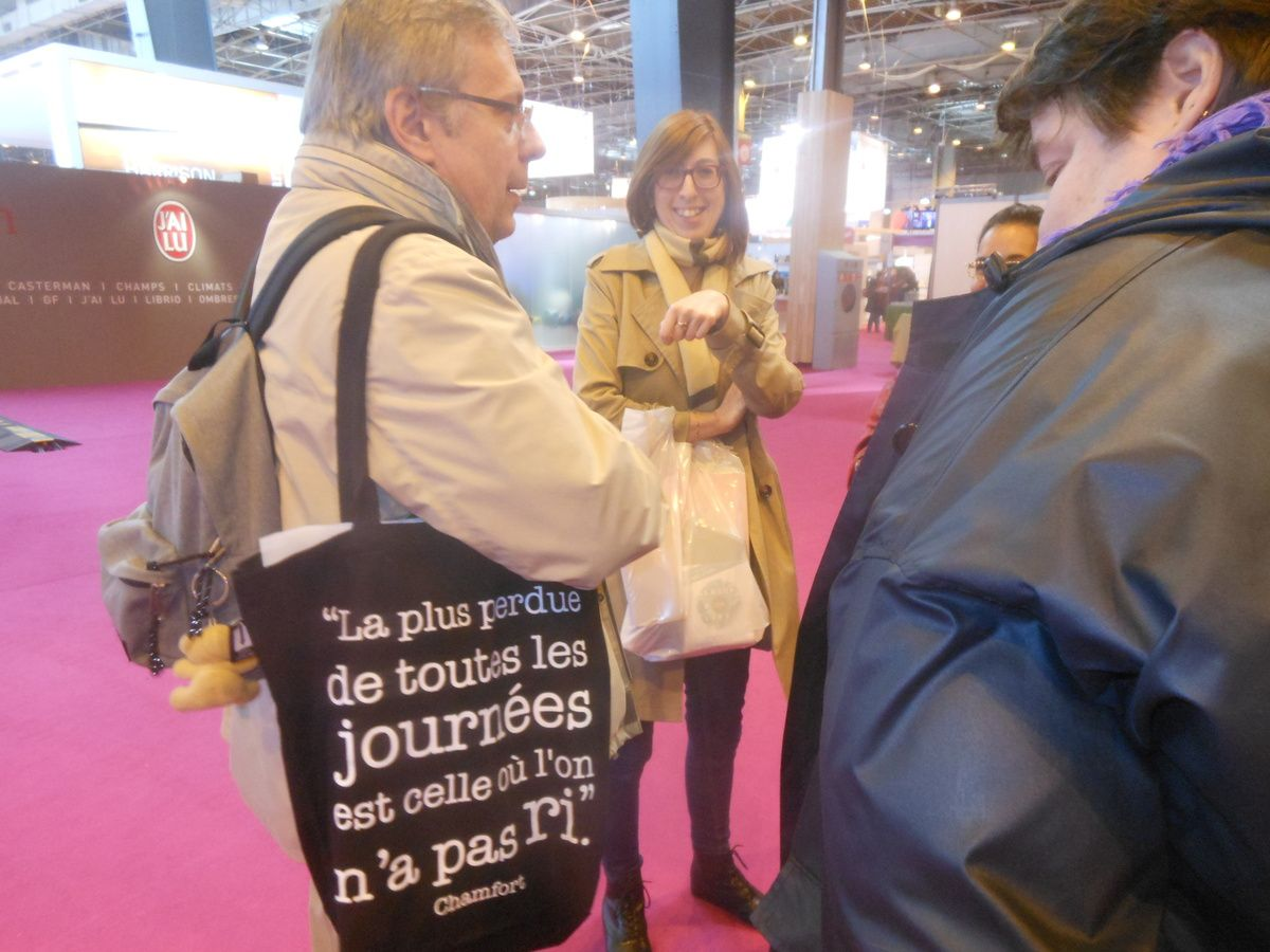 Paris. Porte de Versailles. 2015. Salon du Livre. © Jean-Louis Crimon