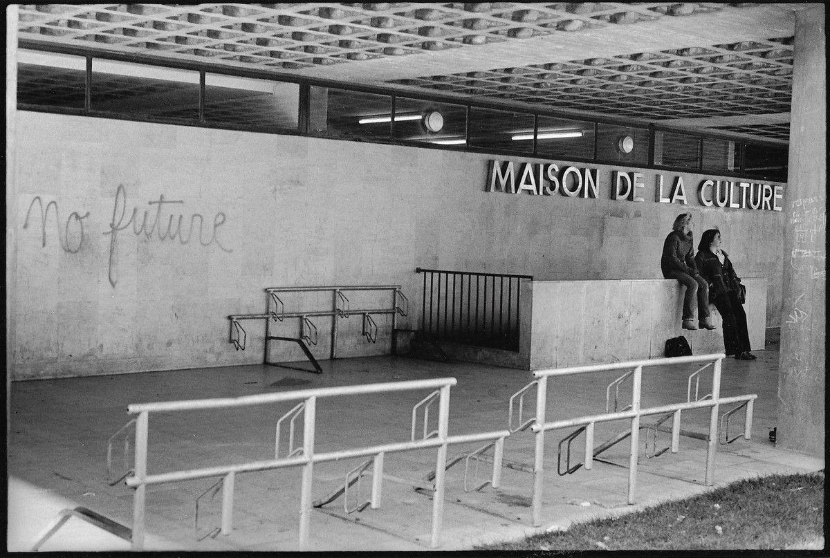 Amiens. Maison de la Culture. Place Léon Gontier. © Jean-Louis Crimon