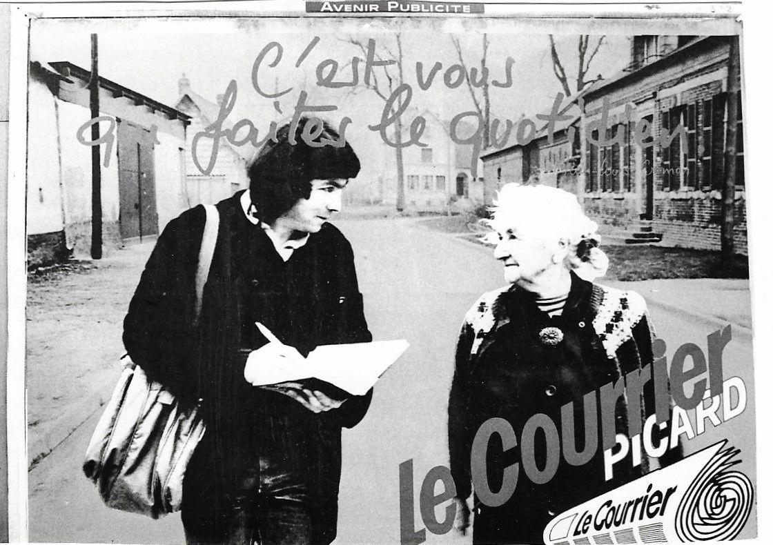 Amiens. C'est vous qui faites le Quotidien. © Jean-Louis Crimon