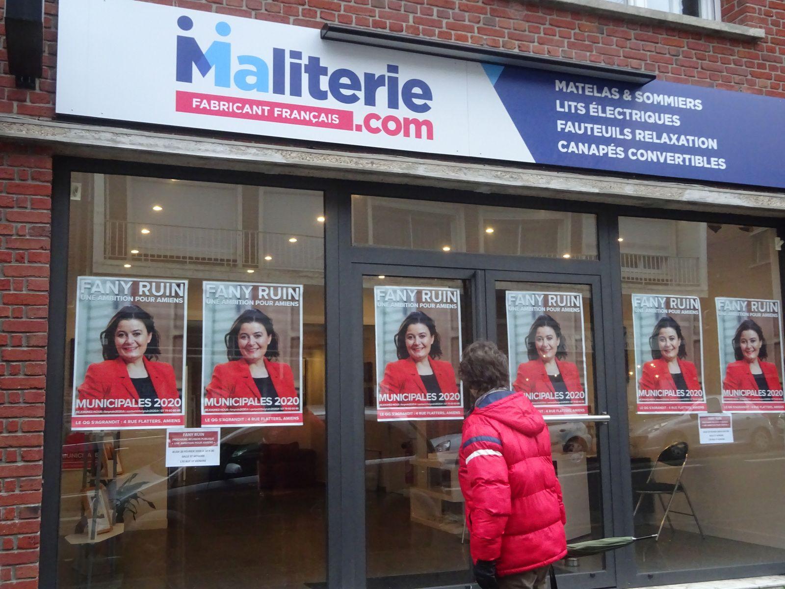Amiens. Rue Flatters. 8 Février 2020. © Jean-Louis Crimon