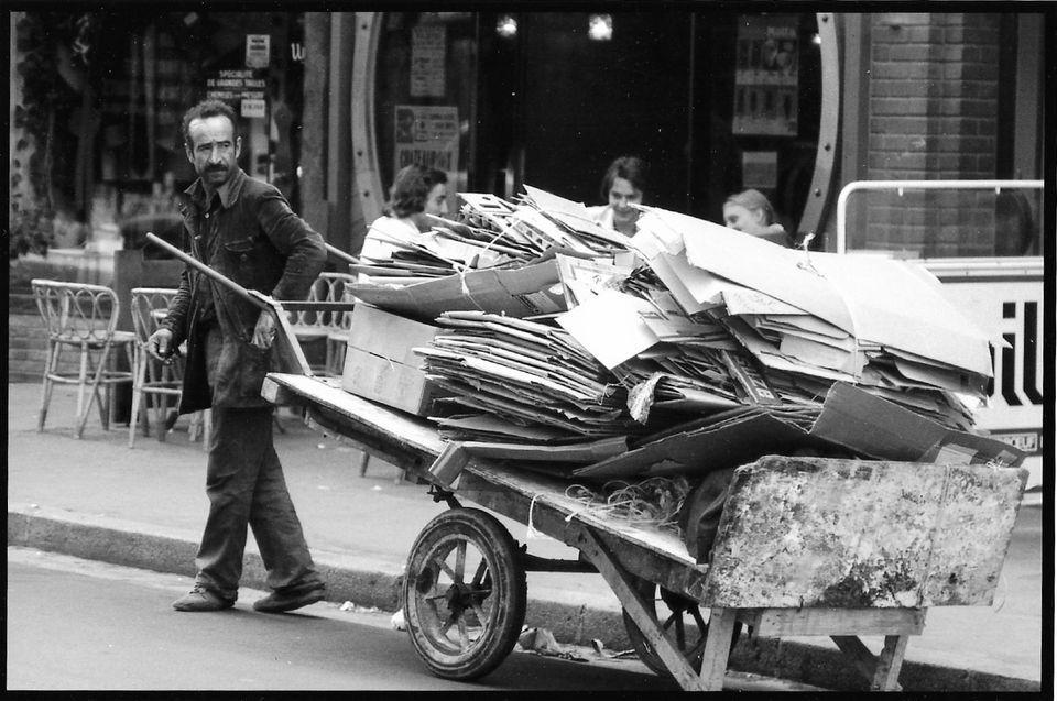 Amiens. Le Cartonneux. Début des années 70. © Jean-Louis Crimon