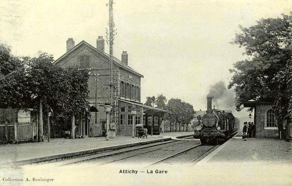 Gare d'Attichy (source wikimedia)